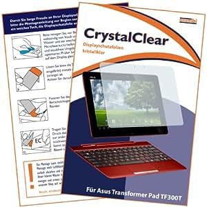 mumbi Displayschutzfolie ASUS Transformer Pad TF300T Schutzfolie CrystalClear unsichtbar