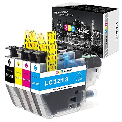 GPC Image Tintenpatrone Kompatibel für Brother LC3213 LC-3213 (1 Schwarz, 1 Cyan, 1 Magenta, 1 Gelb) für Brother MFC-J895DW MFC-J890DW DCP-J772DW DCP-J774DW Druckerpatronen, 400 Seiten hohe Ausbeute - 1 Magenta Tintenpatrone
