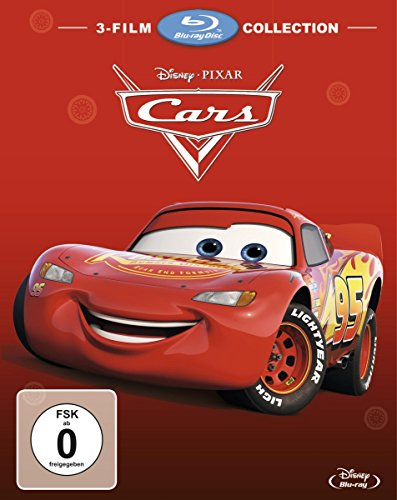 Cars 1 + Cars 2 + Cars 3 [Blu-ray]