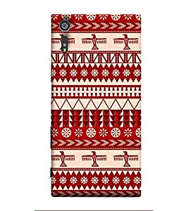 Fuson Designer Back Case Cover for Sony Xperia XZ ( Ethnic Pattern Patterns Floral Decorative Abstact Love Lovely Beauty )