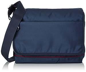 tommy hilfiger umh ngetasche newport messenger blau navy blue koffer rucks cke. Black Bedroom Furniture Sets. Home Design Ideas