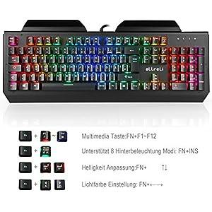 aLLreLi Gaming Tastatur