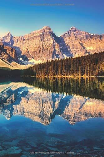 Tagebuch Kanada: Perfekt als Geschenk oder Erinnerung    Kanada Reisetagebuch / Notizbuch mit Bergsee Motiv - 120 Seiten a5 dotted