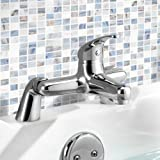 Summer Bathroom Taps - Chrome Bath Filler Mixer Tap by Tradeinpost