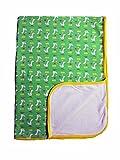 Maximo Baby Wagendecke Entchen grün UV Schutz UPF50+ (grün)