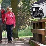 Lorenlli Passen Sie die YN88 Solar-Überwachungskamera an