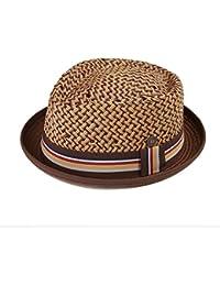 Dasmarca Sombrero Max Straw Retro Porkpie Summer Hat
