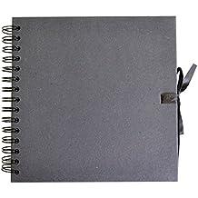 Artemio Scrapbooking - Álbum para libro de recuerdos, color negro