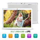 10.1 inch Google Android 7.0 Tablet, Kivors Support Netflix Youtube 2GB RAM 32GB