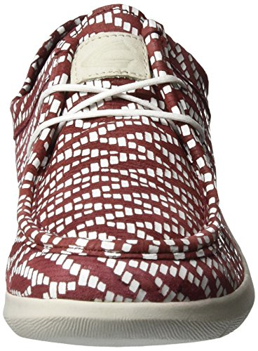 camel active Damen Cloud 73 Sneakers Rot (amarena/white 02)