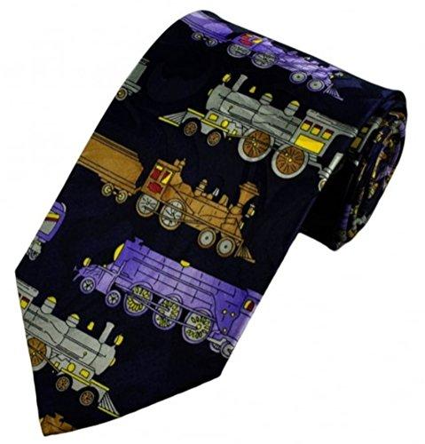 Swagger & Swoon Dampfmaschine Züge Krawatte