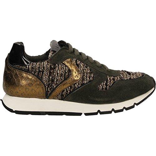 Voile Blanche , Chaussures de sport d'extérieur pour femme Marron bronze 36 Bronze