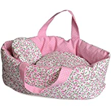 Egmont Carry Cot With Flower Bedding
