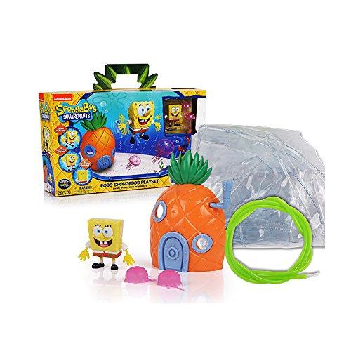 Robo Fish - SpongeBob Squarepants - Robo SpongeBob Pineapple Set mit Wasserbehälter [UK Import]
