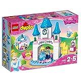 LEGO Duplo 10855 - Cinderellas Märchenschloss, Disney Spielzeug mit großen Bausteine