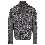 Regatta Mens Collumbus V Full Zip Marl Polyester Stretch Fleece Jacket