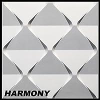1 piastra 3d polistirolo pannelli parete coperta decorazione decorazione 60x60cm harmony