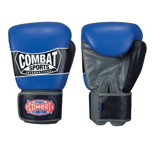 Combat Sports Sparring-Handschuh im Thai-Stil, Herren, blau, 18 oz (Combat Sports Handschuhe)