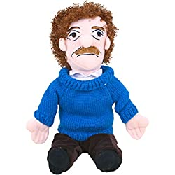 "Unemployed Philosophers Guild Kurt Vonnegut Little Thinker - 11"" Plush Doll for Kids And Adults"