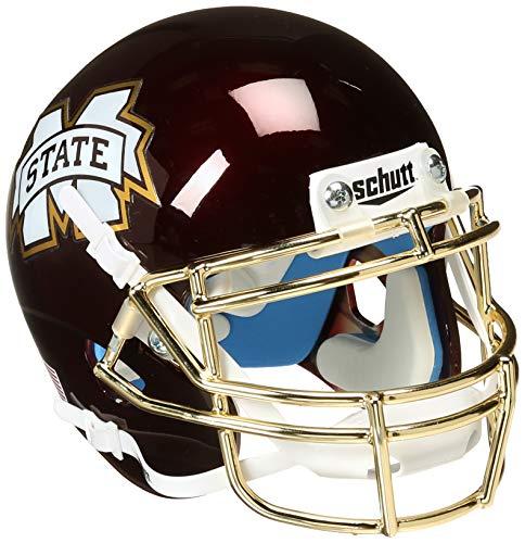 NCAA Mississippi State Bulldogs Ei Schüssel Mini Helm, eine Größe, weiß