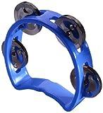 Stagg TAB-MINI/BL Mini Tamburello con Jingles, Blu
