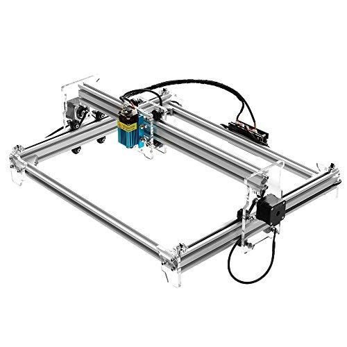 Vogvigo 2500MW A3 Pro CNC Laser Engraver,Escritorio USB Grabado Laser Máquina de Corte 3038 Impresora de DIY Con Gafas Protectoras