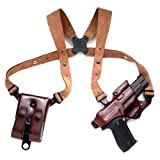 Galco Jackass Rig Shoulder System for 1911 5-Inch Colt, Kimber, Para, Springfield (Havana, Right-hand) by Galco