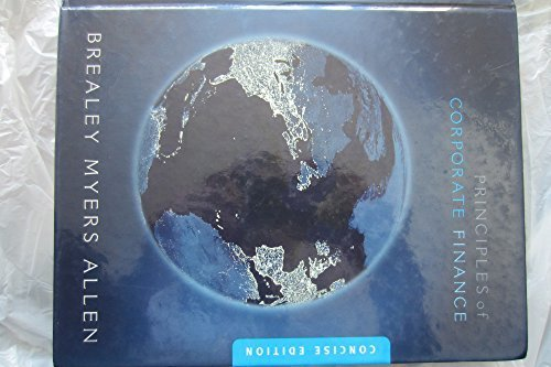 Principles of Corporate Finance: Brief by Richard A. Brealey (2008-01-24)