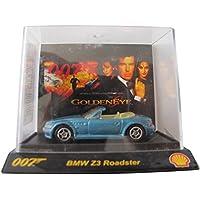 Shell - James Bond Cars - GoldenEye - BMW Z3 Roadster - im Acryl Display - Die Cast 1:64
