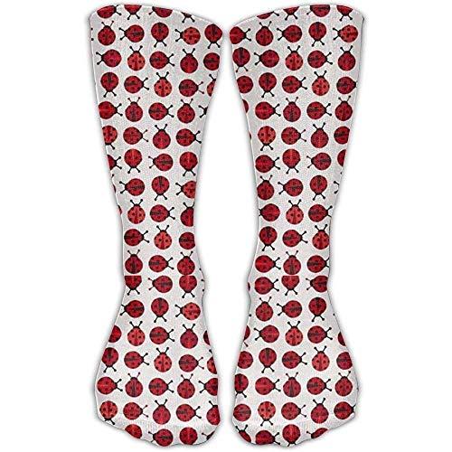 Wdskbg Zoologie Mini Ladybugs Red Compression Socks For Wome And Men, (Mini Fußbälle Bulk)
