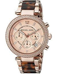 Michael Kors MK5538 - Reloj de cuarzo con correa de acero inoxidable para mujer, color rosa