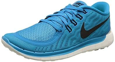 Nike Men s Free 5.0 Running Shoe Blue Lagoon/Copa/White/Black 10 D(M) US