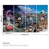 Dekoshop Disney Cars Vlies Fototapete Tapete Vliestapete Disney: Cars 4-012VEXXXL (416cm x 254cm) Photo Wallpaper Mural Tapetenkleister Gratis