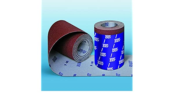 Wolfcraft 1741000 4m x 115mm Easy Fix Roll of Sanding Paper Corundum with 120...