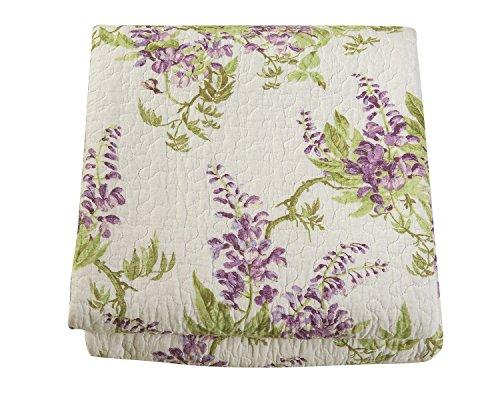 Cotton quilt king size Sets -3pcs include 2 pillow cases Patchwork Bedspread Coverlet