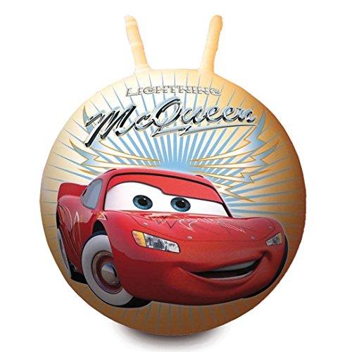 Image of Disney Pixar Cars Space Hopper Kids' Lightning McQueen Jump Bounce Ball Toy