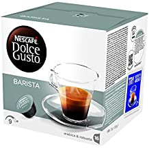 NESCAFÉ DOLCE GUSTO BARISTA Caffè Espresso, 6 Confezioni da 16