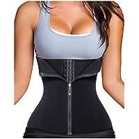 Gotoly Women's Waist Trainer Corset For Weight Loss Zipper & Hook 6 Steel Boned