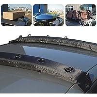 KKmoon Gonfiabile Universale Roof Top Rack Morbida Portabagagli Viaggio Touring per Auto Kayak 2PZ