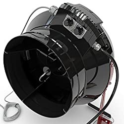 """Black Orchid Centri-flo In Line Centrifugal Grow Room Fan Temp & Speed Control (10"""" (250mm) Dia)"""