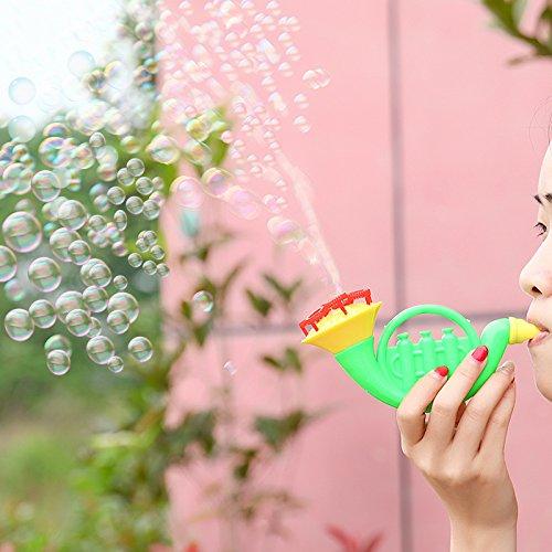 ichen Bedarfs Neue Quellen von seltsamen Horn Blasen Blase Spielzeug, Bubble Gewehren der sprudelnden Wasser Kinder Kinder Spielzeug Batch ()