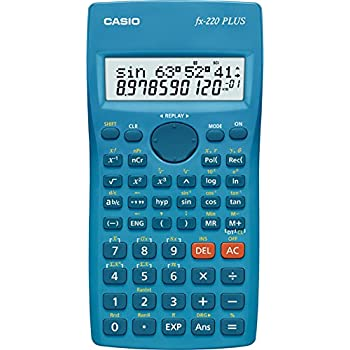 CASIO FX-220 PLUS calcolatrice scientifica - 181 funzioni, display a 2 linee