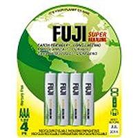 Fuji Enviromax, eco friendly super alcaline Everyday Confezione da 4 AAA