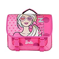 Bagtrotter BAREI10GLASS Barbie Glass Schoolbag, Size-38 x 14 x 33 cm, Colour-Pink