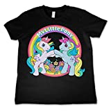 Officiellement Marchandises Sous Licence My Little Pony - Best Friends Unisexe Enfant T Shirts - Noir 5/6 Ans