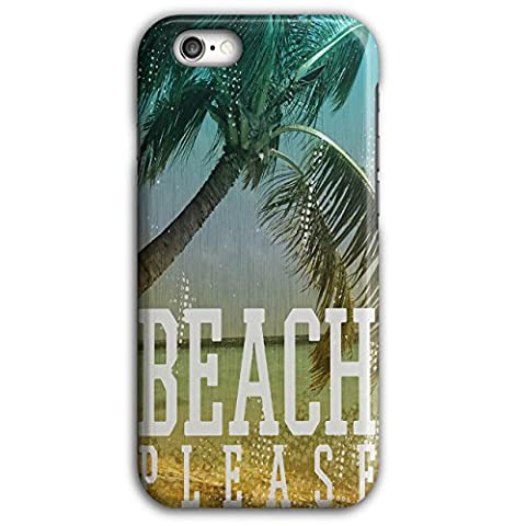 Strand Bitte Jetzt Komisch Zitat iPhone 6 Plus / 6S Plus Hülle | Wellcoda (Festliche Zitate Für Weihnachten)