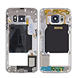 Mittelrahmen für Samsung Galaxy S6 Edge G925, Farbe:Schwarz