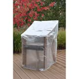 Siena Garden Schutzhülle, Für Schirme bis Ø 350cm, Material: Polyethylen in transparent
