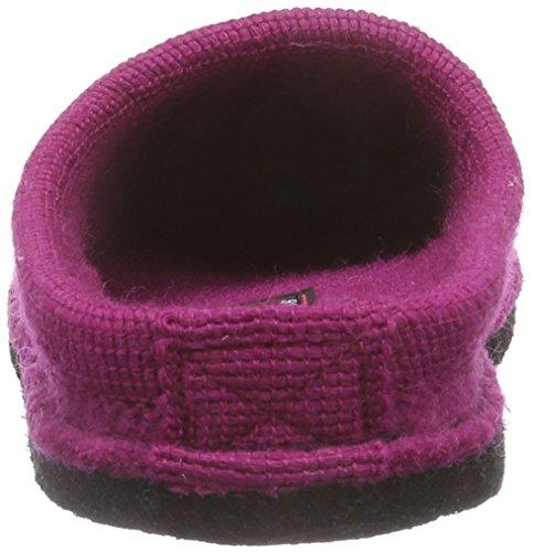 Haflinger Molly, Pantofole basse Unisex – adulto Rosa (Pink (22 kadinal))