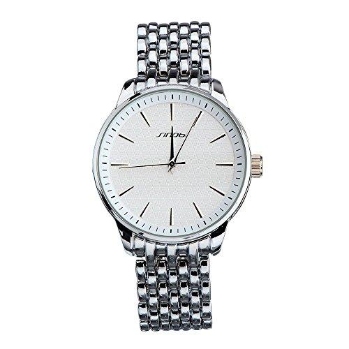 SHOUBIAO® Reloj Reloj Banda De Acero Cuarzo Estudiante Versión Coreana De Los Hombres Del Reloj Resistente Al Agua